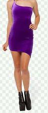 Black Milk violet velours Kapow! Robe