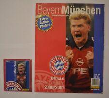 Panini FC Bayern München 2000/2001/Sammelalbum komplett m.allen Stickern+Tüte(12