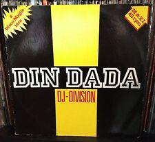 "DJ-Division-Din Dada MIX 12"" VG+ Italo disco Discomagic Records – MIX 169 1984"