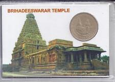Brihadeeswarar Temple UNC Set 2010 MUMBAI MINT Rs.5 Pvt Pack ATM