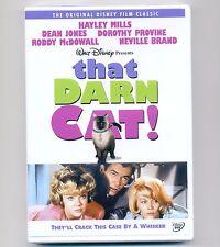 That Darn Cat new Disney DVD 1965 movie Siamese tomcat, Hayley Mills, Dean Jones