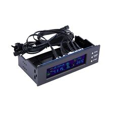 5.25 inch PC Fan Speed Controller Temperature Display LCD Front Panel GO