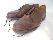 DR MARTENS THE ORIGINAL BROWN LEATHER LACE UP MENS SHOES  UK SIZE 11