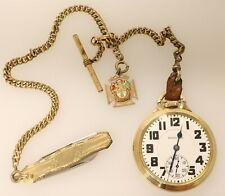 Jewel Pocket Watch Vintage 1936 Hamilton 21