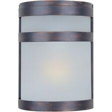 Maxim Arc 1-Light Outdoor Wall Lantern Oil Rubbed Bronze - 5000FTOI