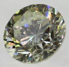 0.18 Carat Diamond K Color SI2 Round Brilliant Natural Loose Ring 3.5 #18