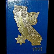 1991 California Highway Patrol CHP Annual Yearbook and History Book