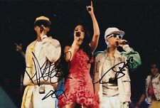 Dappy and Fazer Hand Signed 12x8 Photo - N Dubz - Music Autograph 1.