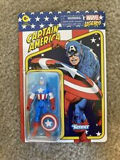 CAPTAIN AMERICA Marvel Legends 1st EDITION Retro Kenner 3.75 In. UNPUNCHED