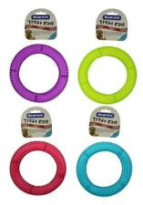 The Pet Store Treat Ring Dog Toy - 18cm Diameter - Dog Game - Fetch - Dog Treats