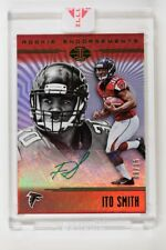 2018 Illusions Encased Auto Rookie Endorsements Green #RE-IS Ito Smith /15