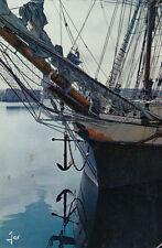 SAINT-MALO 7550 proue de cap-hornier le regina maris bateau
