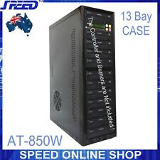 13 bay Duplicator Case with AT-850W Power Supply - No controller, No DVDRW Drive
