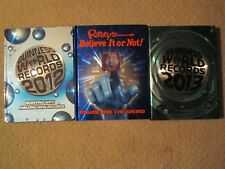 Guinness Book Of Records 2012 & 2013 & 2012 Ripley's Believe It Or Not