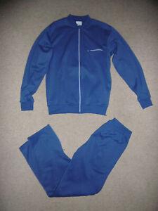 C.I.M. vintage Frankreich Trainingsanzug Gr.S blau Trainingsjacke Trainingshose