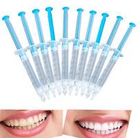 Set 10pcs Teeth Whitening Gel 44% Peroxide Dental Bleaching Dental Care Tool Kit