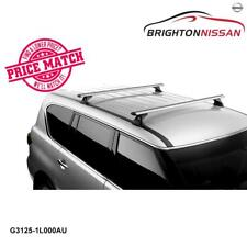 New Genuine Nissan Patrol Y62 Roof Rack Bar Set 80Kg Capacity P/N G31251L000AU