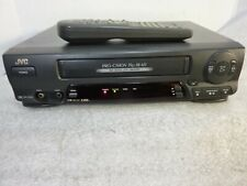 Jvc Vcr Player Recorder on Vhs w/ Remote Serviced