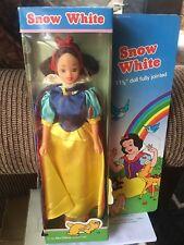 """Snow White Fashion Doll 11 1/2"""" Walt Disney Productions 1986 NRFB"""