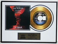 "Disque d'or de Michael JACKSON  ""Scream"",  Gold Record,  31 X 41 cm"