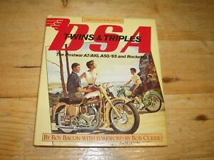 BSA Twins & Triples by Roy Bacon. (Osprey Collectors Library).