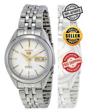 Seiko 5 Automatic SNKL17 SNKL17K1 Men Day Date Stainless Steel Watch