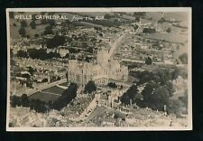 Wells Posted Real Photographic (rp) Collectable Somerset Postcards