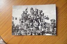 CARTOLINA VIAREGGIO CARNEVALE 1952 CORSO MASCHERATO VIAGGIATA 1952 SUBALPINA AA
