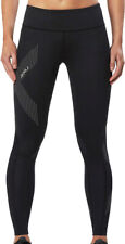 2XU Mid-Rise Compression Womens Long Tights - Black