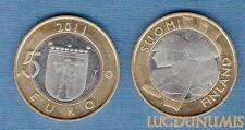 Finlande – 5 Euro 2011 Artisanat Ostrobotnie: Fabrication de goudron – Finland