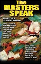The Karate Masters Speak collection of interviews Paperback Book Don Warrener