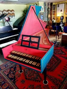 French Double Manual Harpsichord
