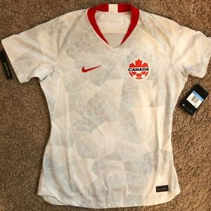 Nike Canada National Soccer Team Jersey Womens Size M