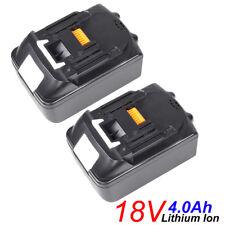 2 X 18V 4.0Ah Lithium Ion Battery For Makita LXT BL1815 BL1830 BL1840 UK