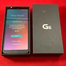 NEW LG G6 32GB Black GSM Unlocked Smartphone Android GSM LG-H871 AT&T T-Mobile