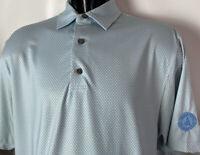 FOOTJOY Polo Golf Shirt FJ Cedar Point Country Club  Patch Sz M Virginia Accents
