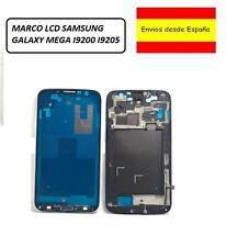Chasis Marco Frame Cubierta LCD Samsung Galaxy Mega i9205 + flex + boton + adhes