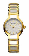 Bulova Gold Plated Case Women's Wristwatches