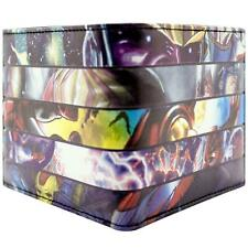 NEW OFFICIAL AVENGERS MIXED CHARACTER STRIPE PRINT ID & CARD BI-FOLD WALLET