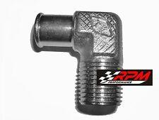 90 Degree Elbow Heater Water Pump Fitting 5/8 Hose 1/2 NPT 4530Z STEEL A141