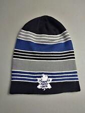 Toronto Maple Leafs Men's Hat Cap Winter Toque One Size Reebok Beanie
