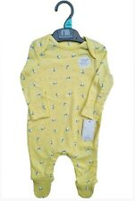 Brand New Mothercare Baby Girls Babygrow 1-3-6-9-12-18 Month Yellow Butterfly