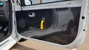 2x RENAULT CLIO SPORT 197 200 MK3 Door Card Panels * Lightweight Gloss Black ABS