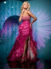 **SUPER SALE** Tony Bowls Paris Prom Dress 111762 Fuchsia Size 12 NWT