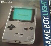 Game Boy Light Silver Console Only No Box Video Game GB Nintendo  Japan