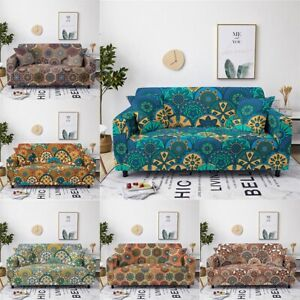 Furniture Slipcovers 2 3 Seater Sofa Cover Stretch Chair Polyester Pillow Cover