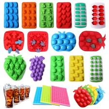 Silicone Ice Cube Tray Freeze Mold Bar Jelly Pudding Chocolate Candy Mould Maker