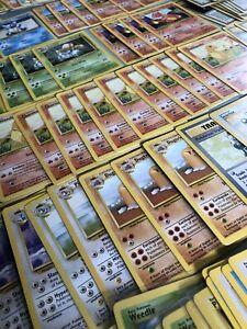 Pokemon Card Base Set & Base Set 2 250+ Bulk WOTC Played Condition Inc Rares