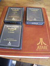 ATARI 2600 REGION FREE OFFERS/COMBINE - TEXT LABEL A - CX2625 FOOTBALL VARIANT