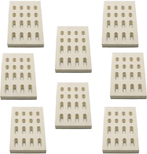 Grill Ceramic Brick Heat Plate 8pc For Barbeques Galore Grand Turbo Members Mark